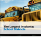 The Five Largest School District In-plants