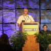 John Sarantakos takes the podium at PRINT 13.