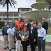 A record 21 in-plant managers attended the 2016 Inkjet Summit. Among them were (front row, from left) Doug Maxwell (Brigham Young University), Roger Chamberlain (The Cincinnati Insurance Co.), Lora Connaughton (University of North Texas), Charity Beck (UNT), Pete Gjerness (U.S. Bank) and Dino McCann (The Christian Broadcasting Network). Back row, from left: Kelly Hogg (University of Virginia), Ryan Sondrup (BYU), Bret Johnson (Mayo Clinic), Chuck Werninger (Houston Independent School District), Debbie Cate (Texas Tech University Health Sciences Center) and Jud Posner (Church of Scientology, International).