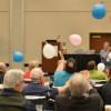 Stress balloons fill the air at ACUP 2017.