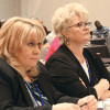 Managers from Alaska and Texas at a session.