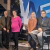 From left: Jim Lukens-Gable, art director; Terra Saxion, prepress operator; Onolee Oberrender, marketing communication; and Director Abbas Badani.
