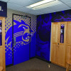 Western Carolina University locker room