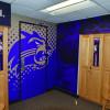 Western Carolina University locker room