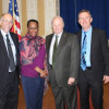 Andy Sherman, Davita Vance-Cooks, Jim Bradley and IPG Editor Bob Neubauer.