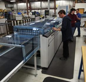 Hunkeler post processing equipment