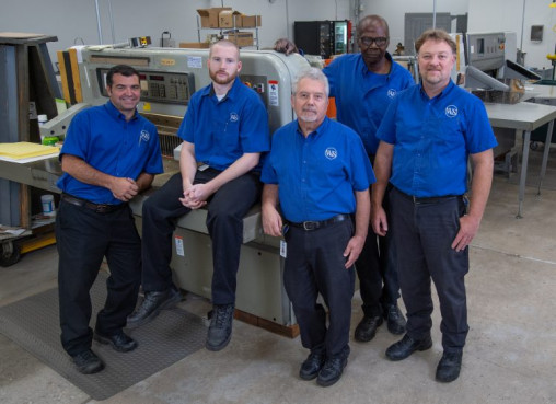 Western & Southern bindery team