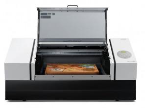 Roland DGA ersaUV LEF2-300D flatbed UV printer.