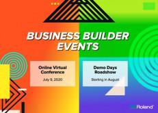 Roland DGA business builder events