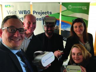World Bank VR team members