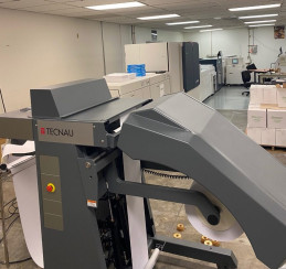 The new Xerox Baltoro HFcut-sheet inkjet press with in-line Technau SheetFeeder BV installed at the Washington State Department of Enterprise Services.