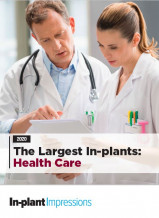 largest health care in-plants