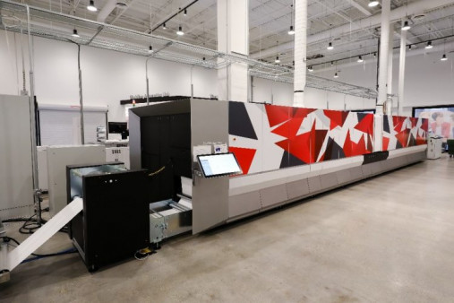 Showcased in the CIC is the Canon ProStream 1000 Press.