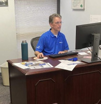 Kevin Kelley, director of Print and Mail Services at Georgia State University.