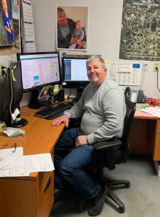 Though COVID-19 hit him with headaches, fatigue, and a severe loss of appetite, Paul Wannigman is back at work now at Coborn's in-plant.