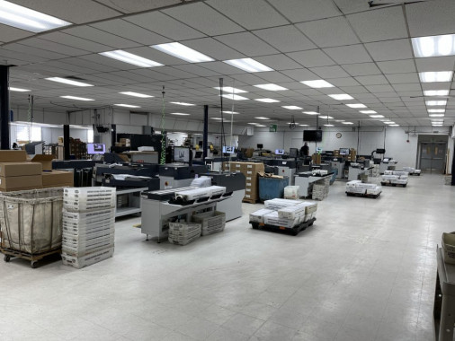 The new Quadient DS-200i folder inserters installed at Colorado's Integrated Document Solutions operation.