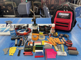 Tools every graphics installer should carry to each job.