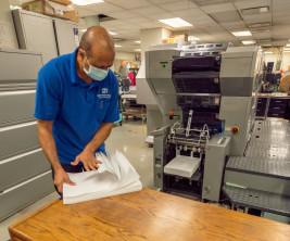 UFT installs the Presstek CPO 34DI DI press.