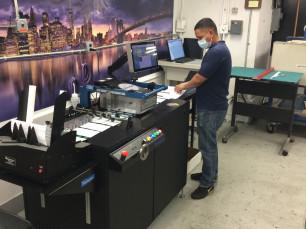 Printware iJetColor Pro digital envelope press