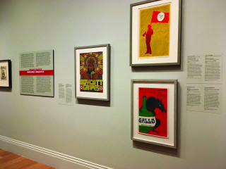 """The Smithsonian's in-house operations print the graphics that accompany exhibits like """"¡Printing the Revolution! The Rise and Impact of Chicano Graphics."""""""