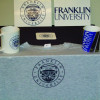 Samples of the items Franklin University can produce with its dye-sub equipment.