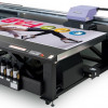 The JFX200-2513 UV wide-format flatbed printer from Mimaki USA.