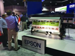 Epson's SureColor S60600 solvent printer.