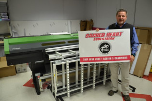 Art Gerckens, manager of Print and Delivery at Sacred Heart University