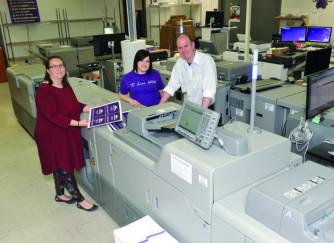 WCU staff and Ricoh C7100CS