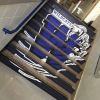 Wildcats-stairs campus graphics