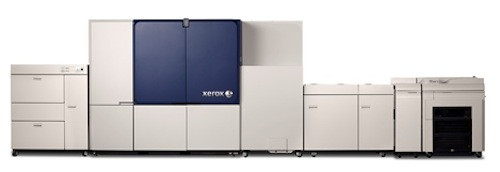 The Xerox Brenva HD production inkjet press.