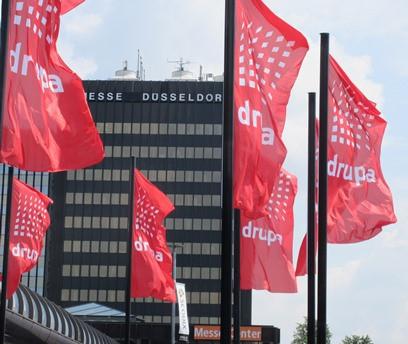 drupa 2016 flags
