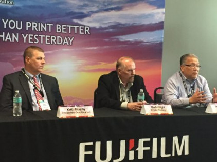 Panel of printers share first-hand experiences as owners of Fujifilm J Press cut-sheet inkjet printing press owners.