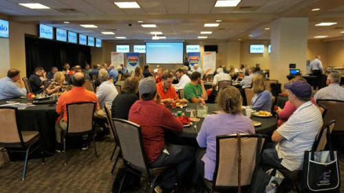 Duplo has kicked off its 2019 Summer Finishing Roadshow in Dayton, Ohio.