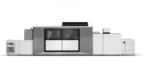 Canon's new varioPRINT iX-series sheetfed inkjet press is built on the varioPRINT i-series platform that was introduced in 2015.