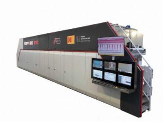 UTECO Sapphire EVO-W inkjet printing press for flexible packaging.