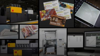 Kodak debuts several new products for the printing industry