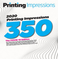2020 Printing Impressions 350 ranking of largest printing companies in the U.S. and Canada.