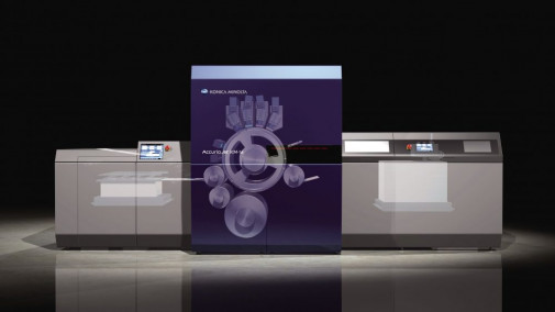 AccurioJet KM-1e LED UV Inkjet Press