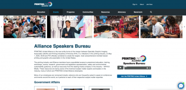 PRINTING United Alliance Speakers Bureau