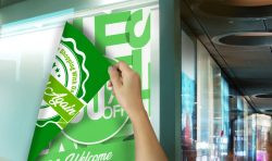 Double-Sided Window Graphics