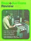 August 1971 issue of Reproductions Review. Love that '70s green.