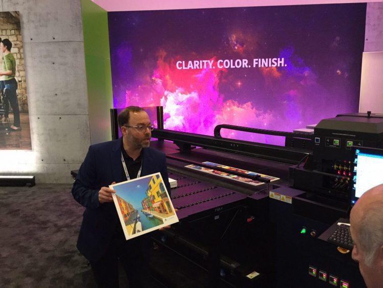 Konica Minolta AccurioWide 160 UV LED wide-format printer