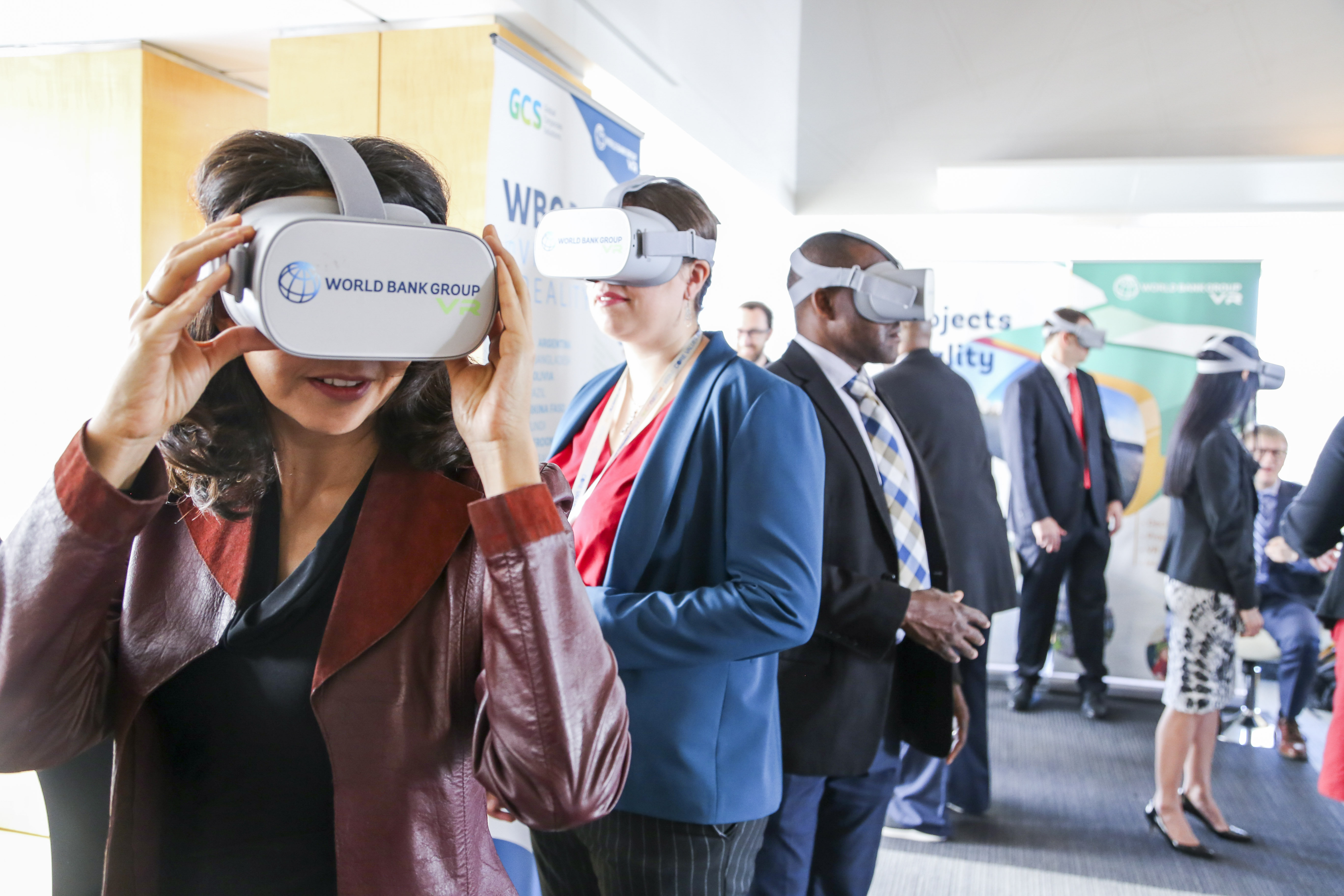 World Bank innovation with AR and VR technologies.